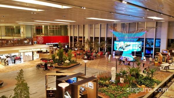 チャンギ空港で仮眠を無料で取るならココ!!~ターミナル1~