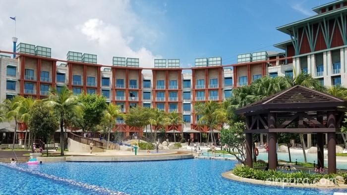 ハードロックホテルシンガポールのプールを徹底解剖!!その1