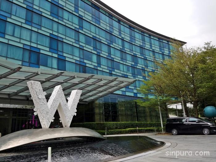Wホテルシンガポールの行き方はシャトルバス!乗り場や時刻を調査!