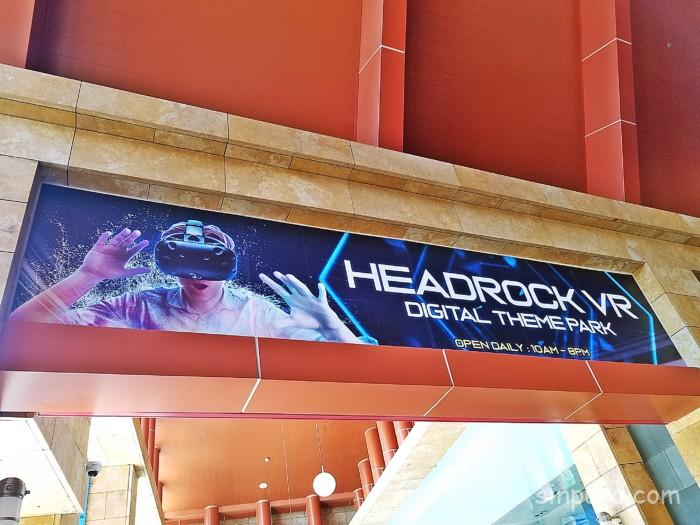 シンガポールのヘッドロックVRの料金を現地調査した!(Head Rock VR)