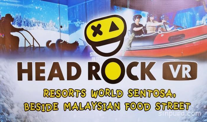 シンガポールのヘッドロックVRを徹底調査!料金や行き方は?【Head Rock VR】